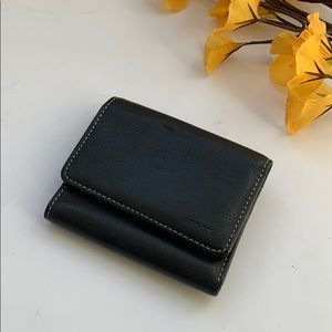 Fossil small black wallet